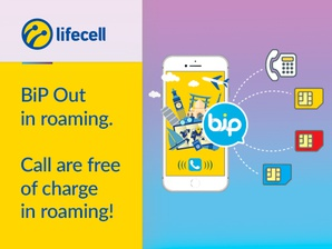 BiP Out calls are free of roaming charge