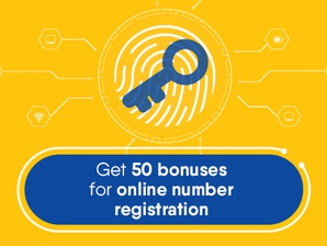 Personalize and get 50 bonuses